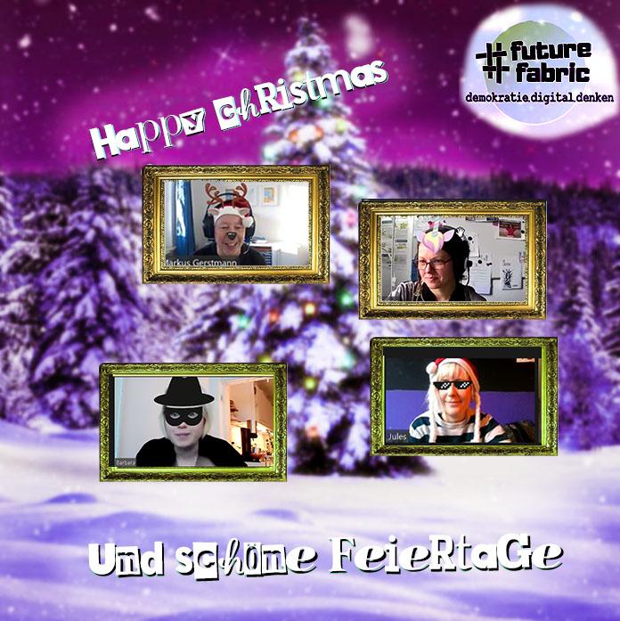 wir wünschen euch frohe Weihnachten und schöne Feiertage!